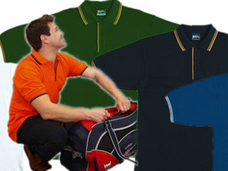Ballarat Embroidery Team Workwear polo shirts contrast polo A 2CP L 2LCP