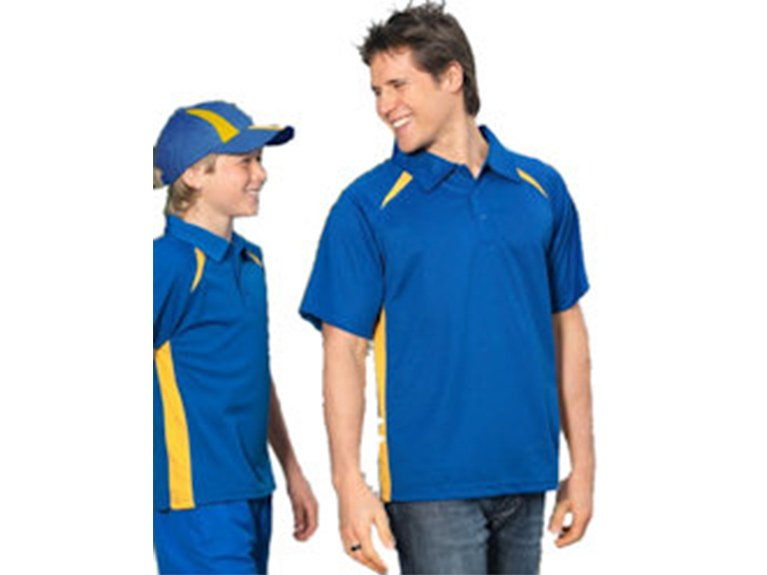 Ballarat Embroidery Team Workwear polo shirts splice polo A P7700 KP7700B