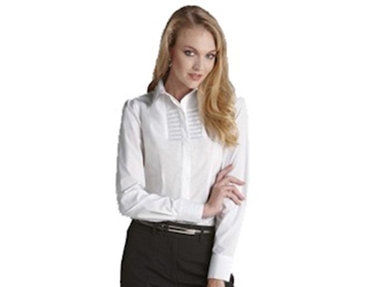 ballaratembroidery Berlin Ladies Long Sleeve Shirt