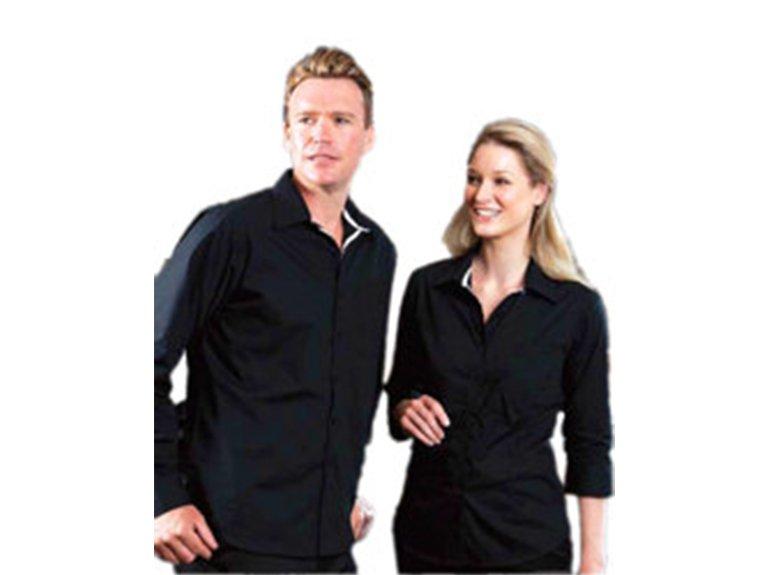 ballaratembroidery Contrast Placket Shirt