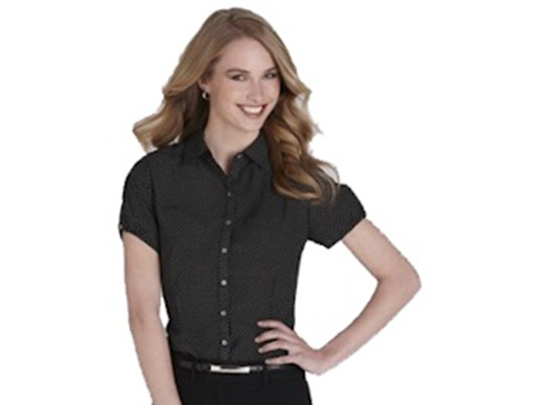ballaratembroidery Ladies Short Sleeve Ruby shirt