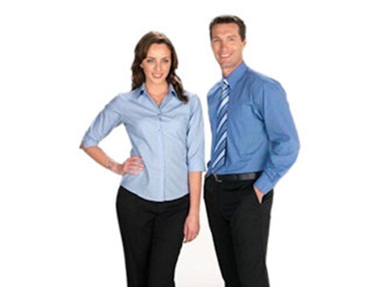 ballaratembroidery Micro Check Shirts