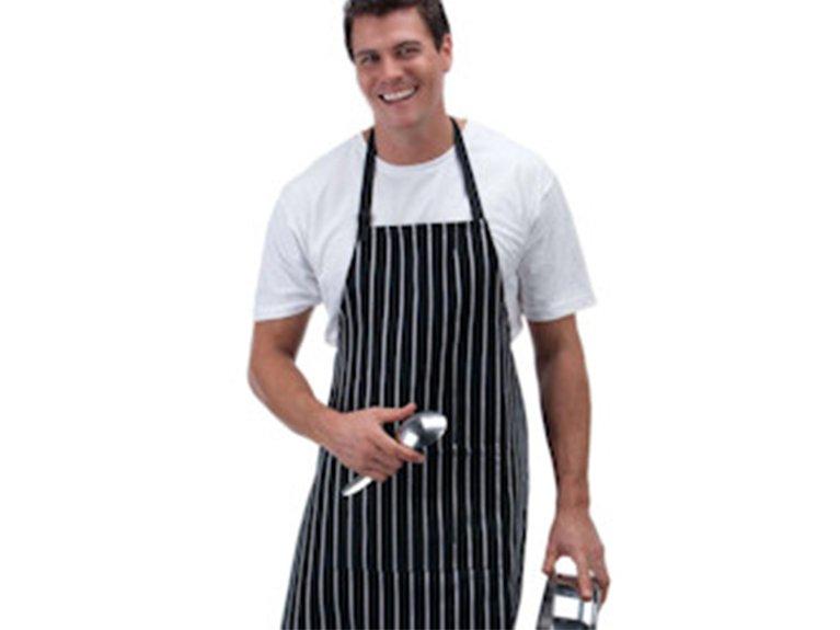 ballaratembroidery Striped Chef's Apron