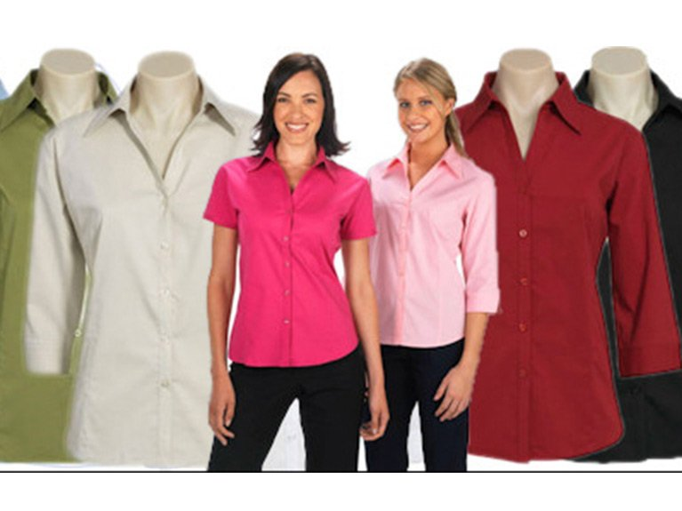 ballaratembroidery Stretch Metro Shirt