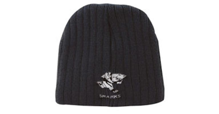 Ballarat Embroidery caps cable knit beanies