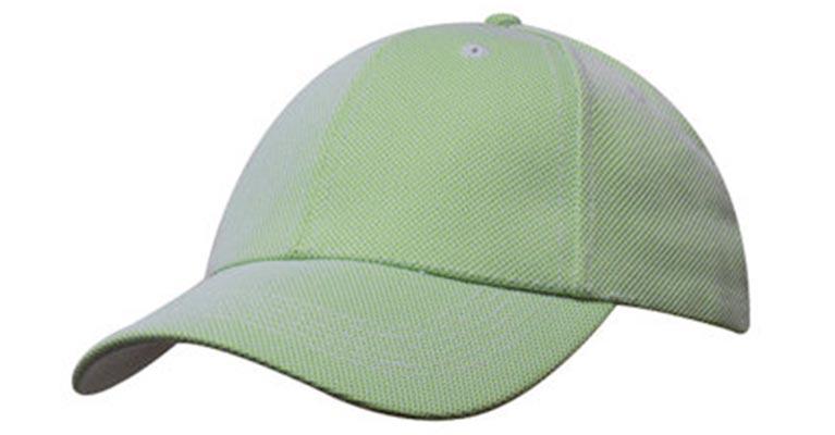 Ballarat Embroidery caps green mesh