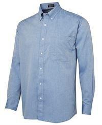 ballarat embroidery fine chambray shirt