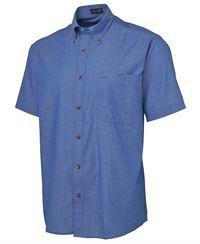 ballarat embroidery indigo shirt