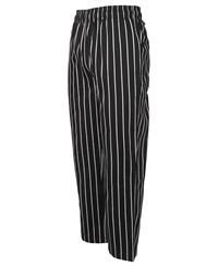 ballarat embroidery striped chefs pant