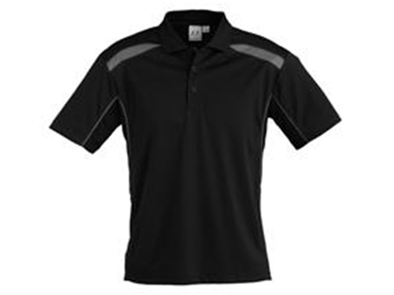ballarat embroidery team and workwear mens united short sleeve polo