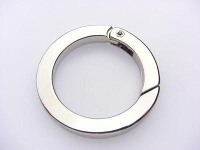 flat circular carabiner
