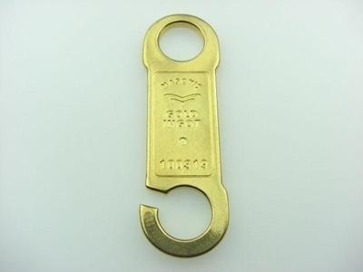 golden zamak belt loop