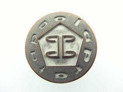 cusomised zamak button