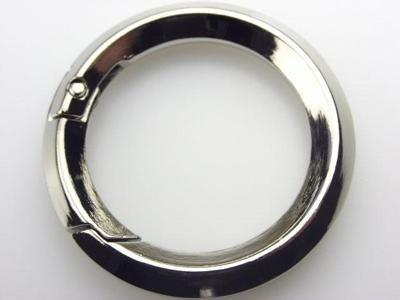 circular sectioned carabiner
