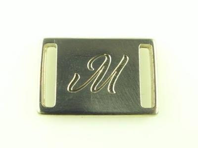 engraved small belt loop