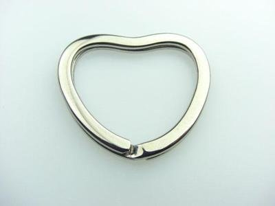 heart-shaped brisè ring