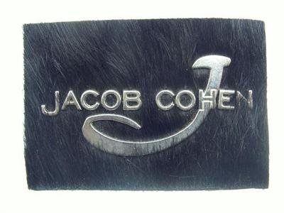Jacob Cohen leather label