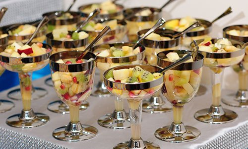 Refreshing fruit salads