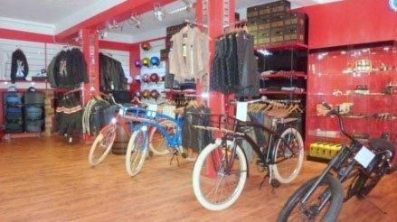 delle biciclette in vista