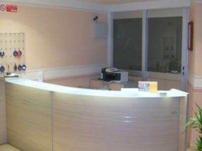 banco da reception