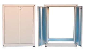 mobili con anta in alluminio da esterno