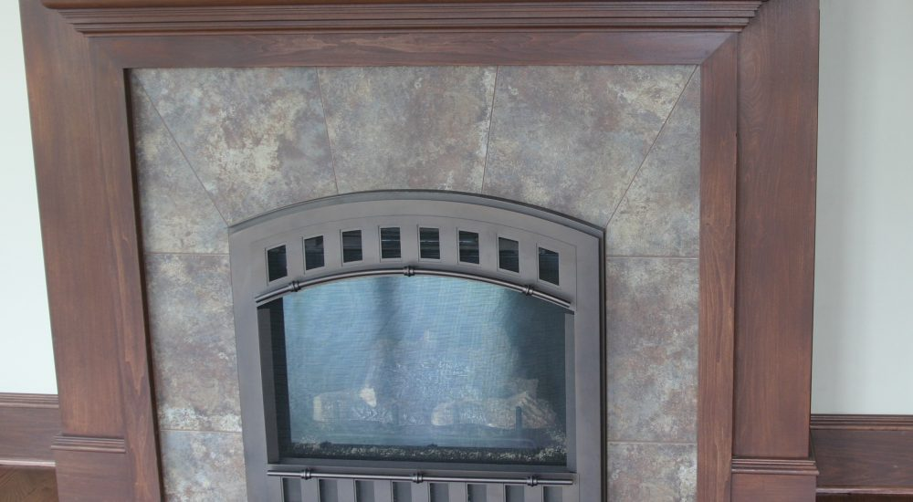 Fire Place Bison Countertops
