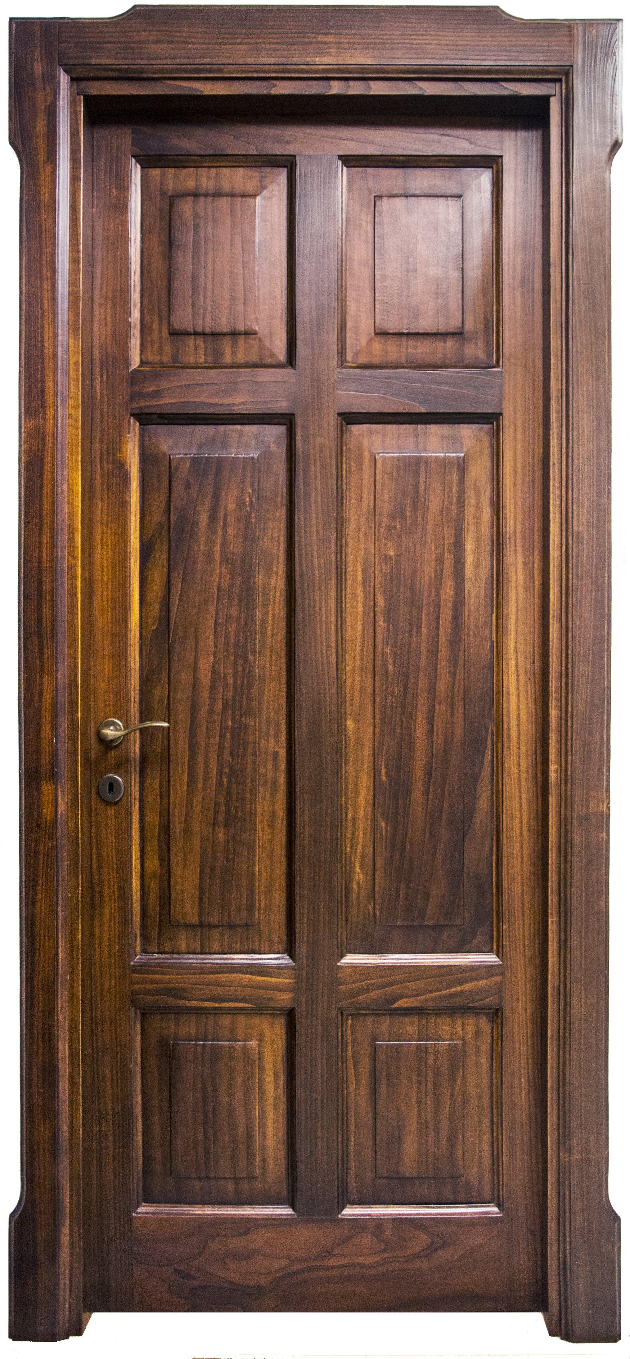 Produzione porte in legno mantova falegnameria veneri - Porta in legno massello ...