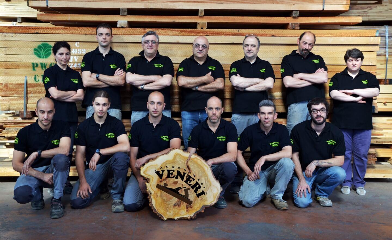 staff della falegnameria veneri
