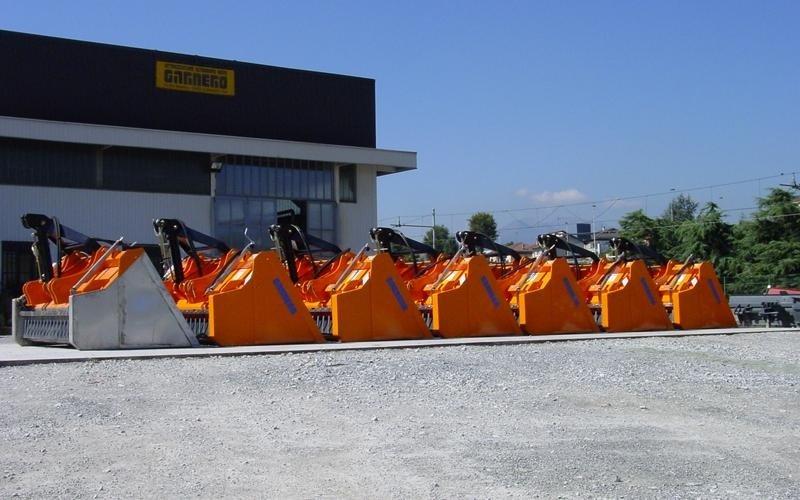 parc des véhicules de salage cuneo