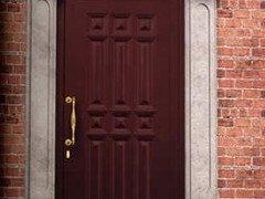 porta di ingresso in legno