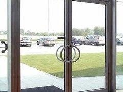 porta ingresso in vetro