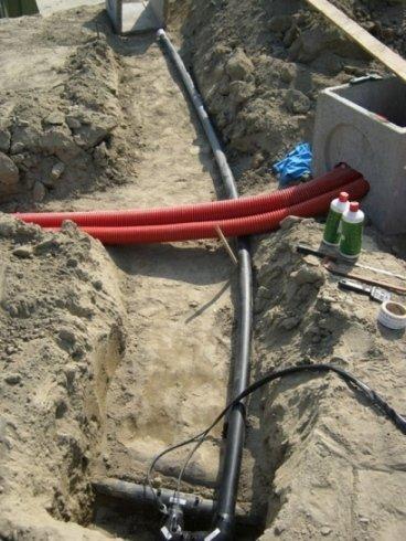 impianto lavaggio ghiaie in costruzione