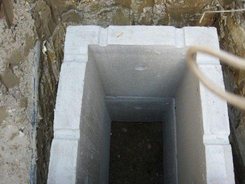 pozzo acque di scarico