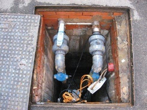 tubazioni acque di scarico