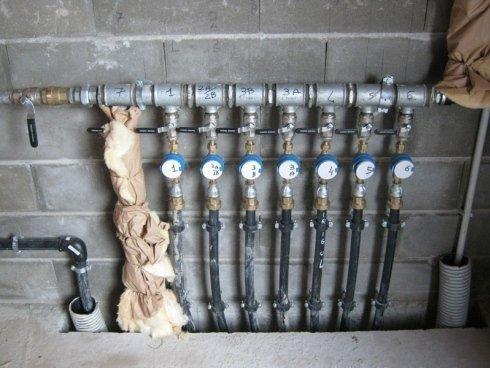 distribuzione acque domestiche