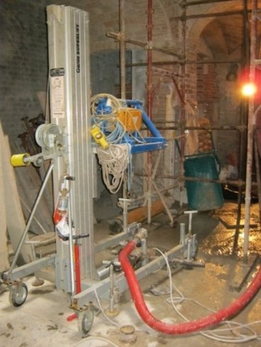 cantiere geotermico