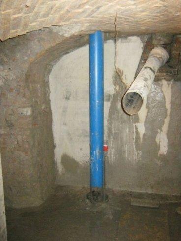interno pozzo artesiano