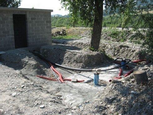 scavo per pozzetto