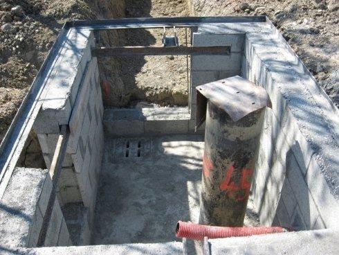 scavo impianto irrigazione agricolo