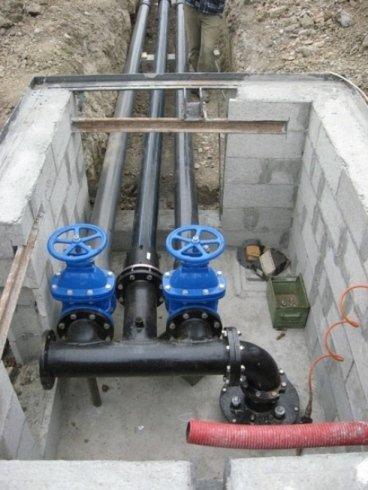 impianto irrigazione campi