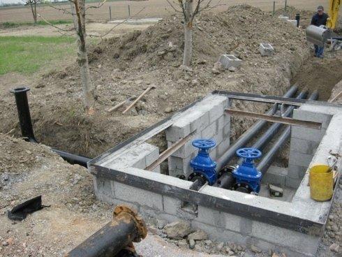 impianto irrigazione agricoltura