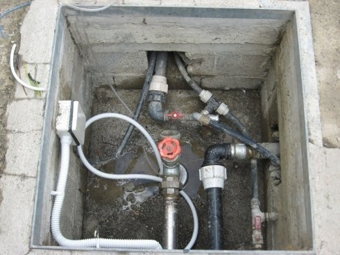 pompa impianto distribuzione acqua