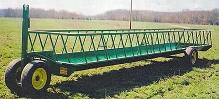 single trough feeder