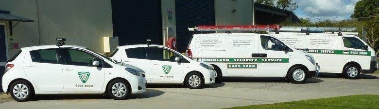 summerland security cars