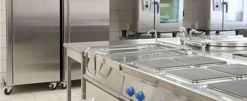 Impianti di refrigerazione in cucine professionali