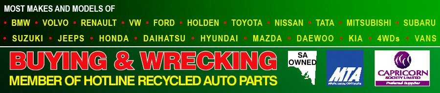 dry creek auto wreckers makes and models banner