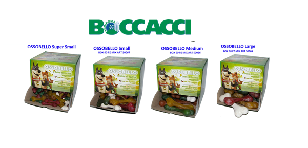 ossobello snacks per cani