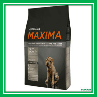 maxima medium lamb and rice