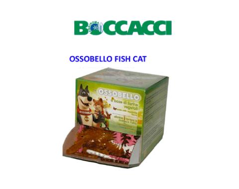 ossobello fish cat, snaks per cani