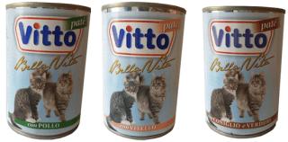Vitto pate per gatti